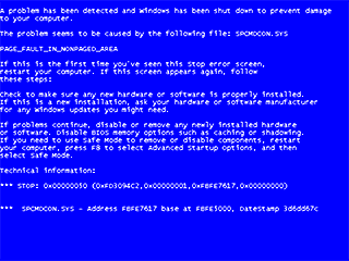 Microsoft Win XP's 'Blue Screen of Death'